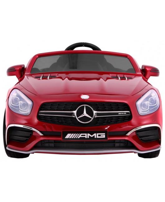 Elektrické autíčko Mercedes AMG SL65 lakované červené